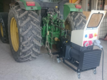 Eine hohe Traktormotorleistung gewährleistet einen störungsfeien Betrieb